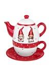 Набор чайный новогодний Гномики