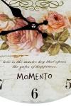Часы настенные Бархатные розы