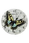 Часы настенные Полет бабочки
