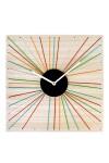 Часы настенные Цветные лучики