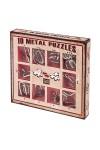 Набор головоломок 10 metal puzzles