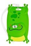 Бирка-мемо для багажа Яркий зверь