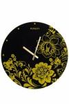 Часы настенные Цветочный орнамент