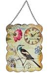 Часы настенные Птичка