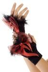 Перчатки маскарадные для взрослых Пламя