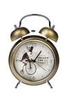 Часы настольные Следуй за белым кроликом