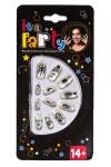 Набор ногтей накладных флуоресцентных Страшилки