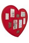 Рамка для 9-ти фото Сердце