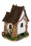 Фигурка садовая с фонарем Альпийский домик