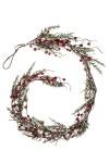 Гирлянда декоративная Веточки и красные ягодки
