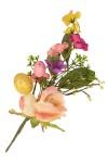 Украшение для интерьера Пасхальная веточка с розами