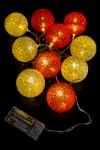 Украшение интерьерное светодиодное Клубочки - монохром