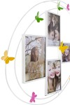 Рамка для 4-х фото Бабочки