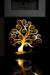 Рамка для 3-х фото Цветущее дерево