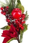 Украшение для интерьера Цветок с ягодами
