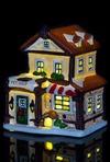 Украшение для интерьера светящееся Пригородный домик