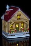 Украшение для интерьера светящееся Деревянный дом