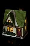Украшение для интерьера светящееся Праздничный домик
