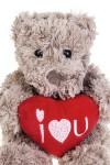 Игрушка мягкая Влюбленный мишка с сердцем