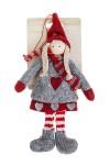 Кукла декоративная Девочка в шапочке и шарфике
