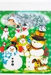 Набор аппликаций Дед Мороз
