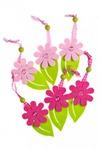 Набор украшений декоративных Садовые цветы