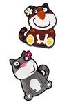 Набор держателей-магнитов Мартовские коты