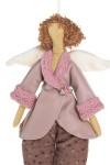 Кукла мягконабивная Тильда - Розовый ангелочек