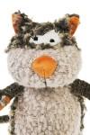 Игрушка мягкая Яркий кот избавит от забот