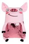 Игрушка мягконабивная Свинка Блестяшка