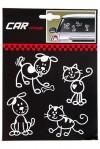 Набор аппликаций Кошки и собаки