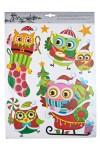 Набор аппликаций новогодних Веселые совята