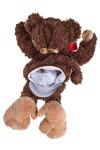 Игрушка мягкая Зимняя обезьянка