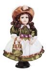 Кукла Кареглазая красавица в шляпке