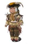 Фарфоровая кукла Индеец