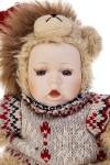 Кукла мягконабивная Маленький мишка в свитерке