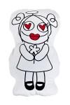 Муфта-игрушка Ангелочек с цветочком