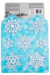 Набор аппликаций Красивые снежинки