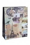Пакет подарочный Париж