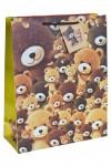 Пакет подарочный Плюшевые мишки