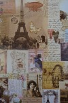 Бумага упаковочная Париж