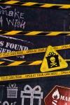 Бумага упаковочная Особо опасно