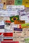 Бумага упаковочная Для путешественника