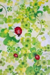 Бумага упаковочная Божьи коровки на зеленом