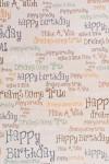 Бумага упаковочная Надписи на стене