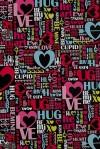 Бумага упаковочная Слова любви