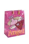 Пакет подарочный Розовый ангел
