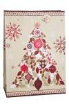 Пакет подарочный новогодний Нарядная елочка