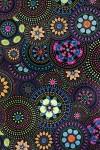 Бумага упаковочная Цветочная мозаика