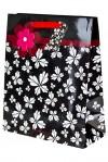 Пакет подарочный Цветочные бабочки
